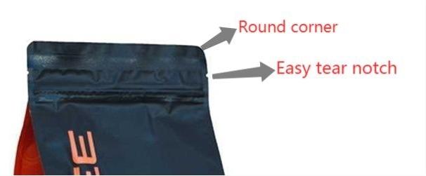 coffee bag detail