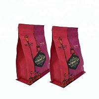 print food grade flat bottom bags