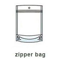 stand up zipper bag for food