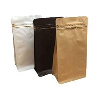 flat borrom paper pouch