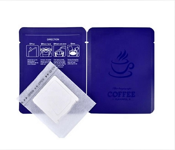 Drip coffee package bag  sachet with filter