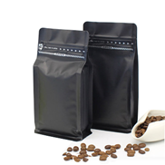 aluminum pouch with valve for coffee