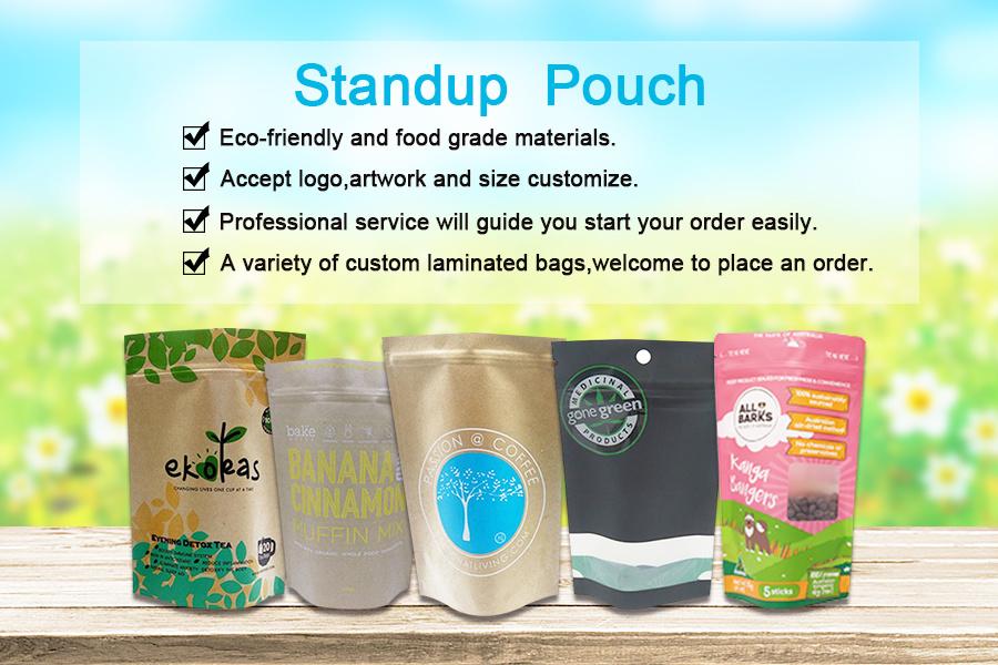 compostable PLA packaging bag