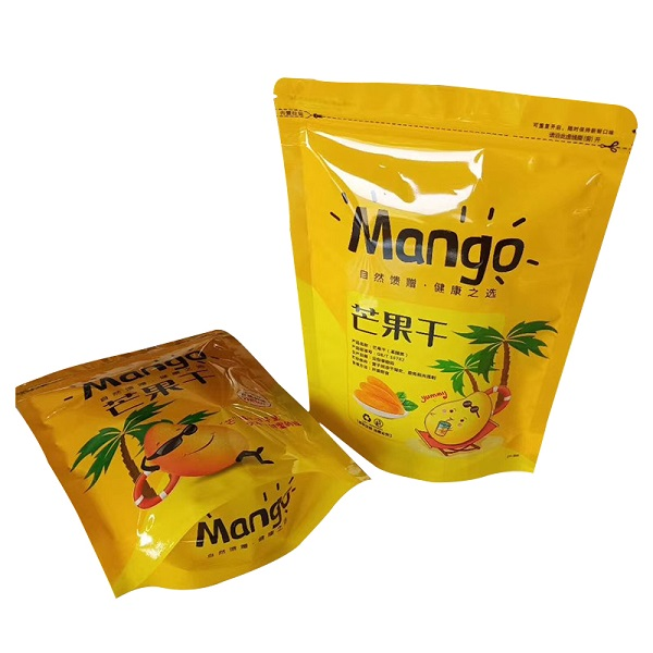 dried fruit bag ziplock pouch