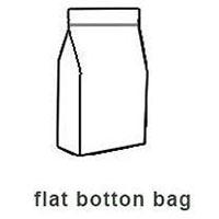 flat botton bag