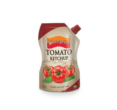 ketchup pouch with spout